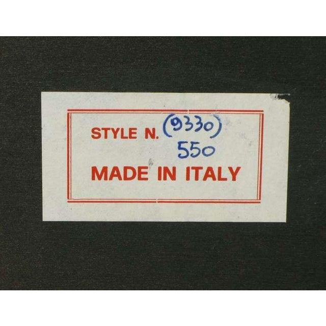 Tan 1960s Italian Bird's Eye Maple Breakfront Commode For Sale - Image 8 of 8