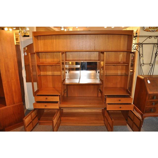 Parker Knoll Vintage 1970s Teak Wall Unit - Image 3 of 6