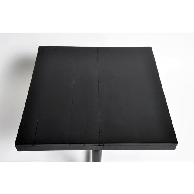 British Colonial Tea Table With Round Post Legs For Sale - Image 11 of 13