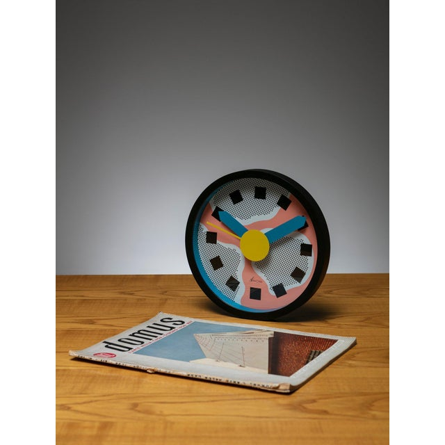 Modern Wall Clock by Sowden and Du Pasquier for Neos For Sale - Image 3 of 4