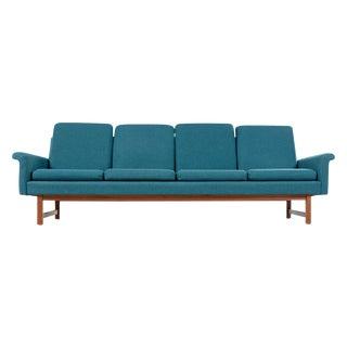 Vintage Hans Wegner Folke Ohlsson & Fritz Hansen Style Danish Modern Sofa Couch