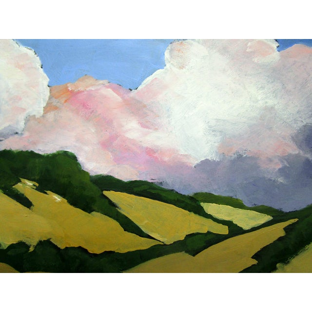 California Malibu Hills Morning Clouds Landscape Lynne French For Sale In Los Angeles - Image 6 of 7
