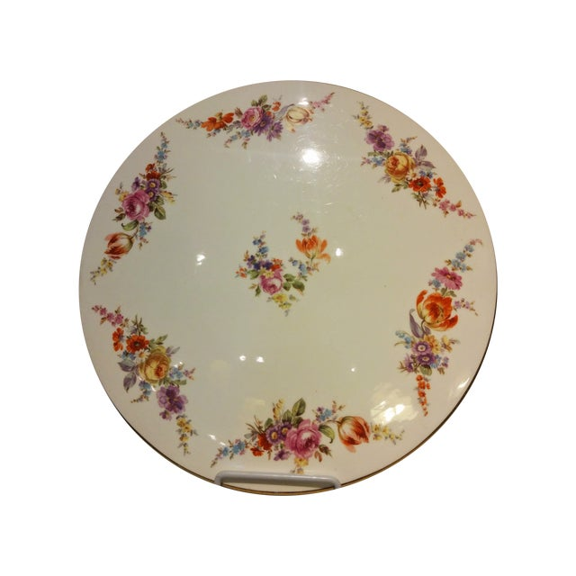 German Vintage Cake Platter - Image 1 of 8