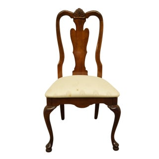 Late 20th Century American Drew Cherry Grove Collection Queen Anne Style Dining Side Chair For Sale