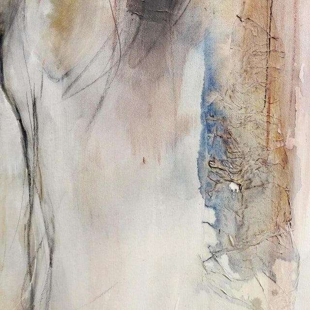 "Figurative Gabriele Mierzwa ""Greetings"" Original Artwork For Sale - Image 3 of 8"