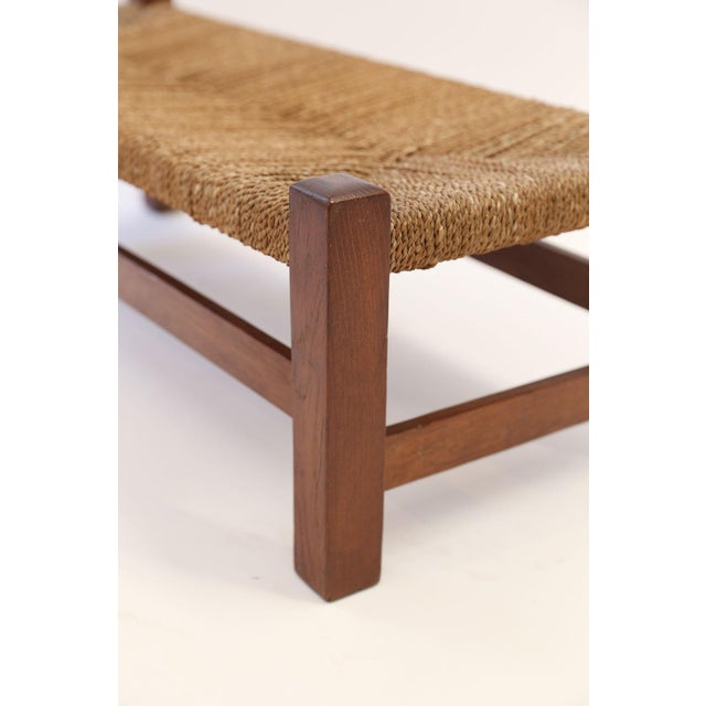 Heals Oak Long Stool For Sale - Image 9 of 10