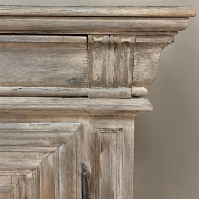 Early 18th Century Country French Whitewashed Buffet For Sale - Image 10 of 13