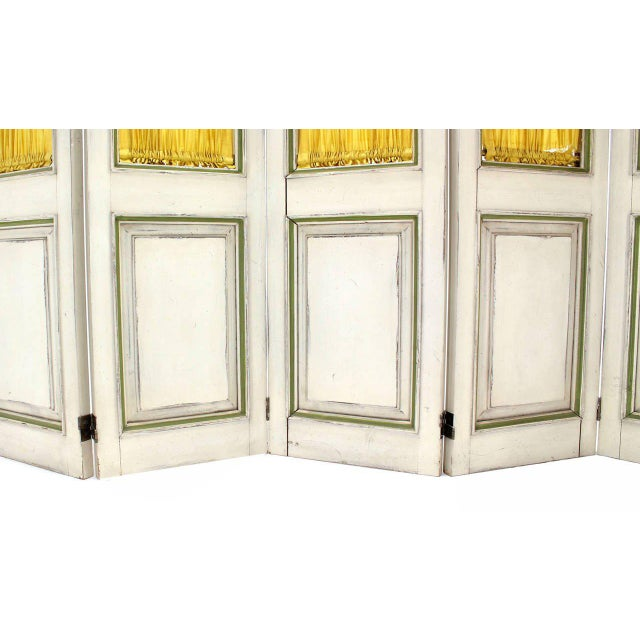 Rustic Five-Panel French Room Divider For Sale - Image 3 of 6