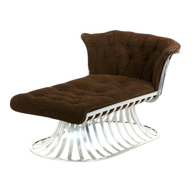 Circa 1960 Russell Woodard Mid-Century Aluminum Chaise Lounge - Image 1 of 11