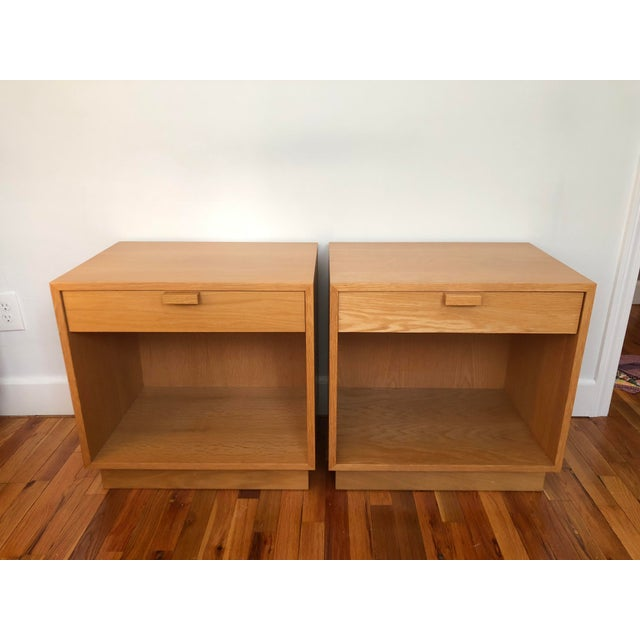 1970s Scandinavian Modern Charles Webb Nightstands - a Pair For Sale - Image 13 of 13