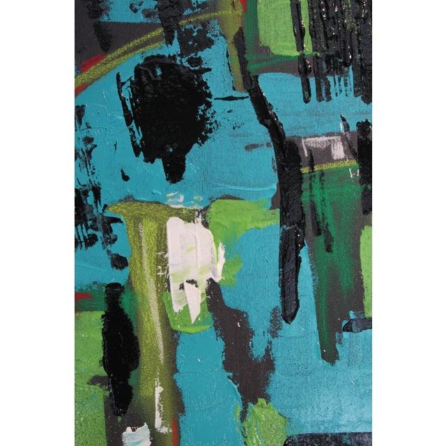 "2017 ""BU 4"" Abstract Acrylic Painting - Image 9 of 10"