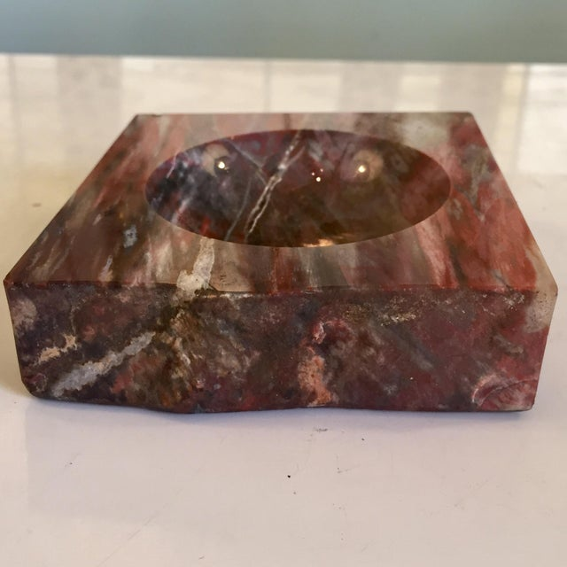 Wood Petrified Wood Ashtray For Sale - Image 7 of 7