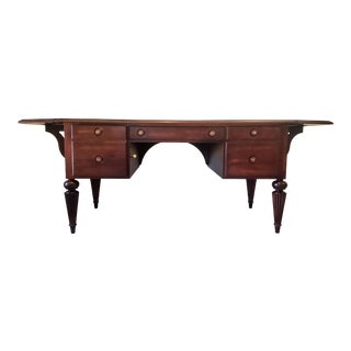 Ethan Allen Drop Leaf Marshall Writing Desk For Sale