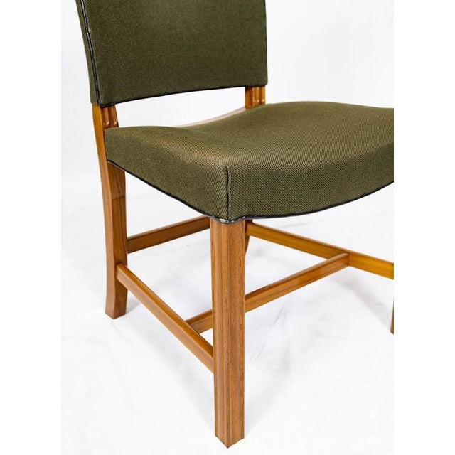 Green Set of Ten Kaare Klint Dining Chairs For Sale - Image 8 of 10