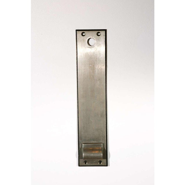 Cast Nickel-Plated Doorplates For Sale In Los Angeles - Image 6 of 6