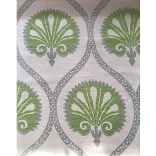 "Thibaut ""Kimberly"" Cotton / Linen Fabric - 7 Continuous Yards For Sale"