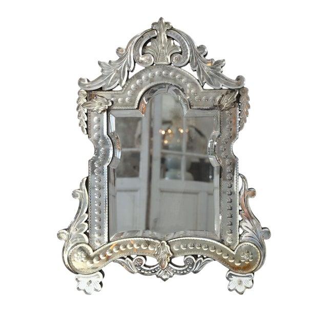 Vanity-Top Venetian Mirror For Sale