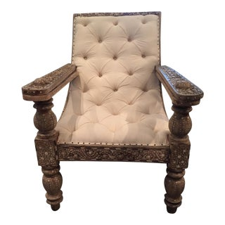 19th Century Anglo-Indian Plantation Chair For Sale