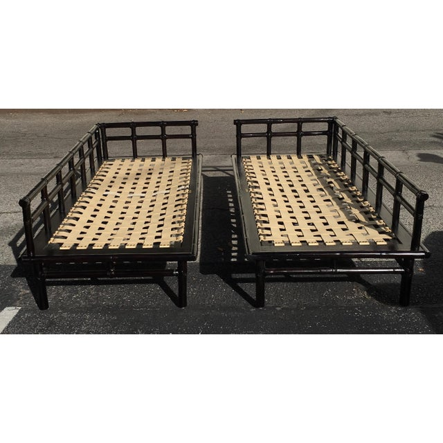 McGuire Jpanese-Style Daybed Sofas - A Pair - Image 2 of 7