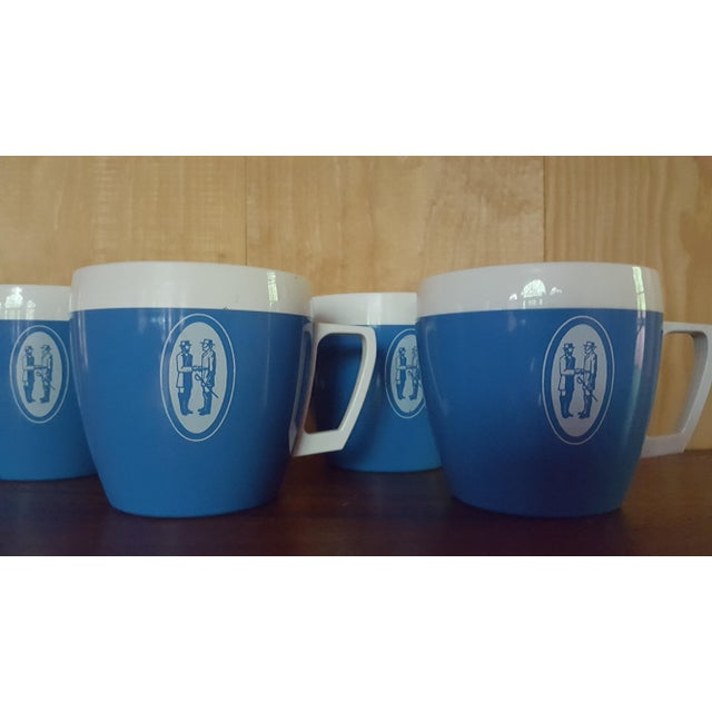 Vintage Coffee Cups - Set of 4 - Image 4 of 6