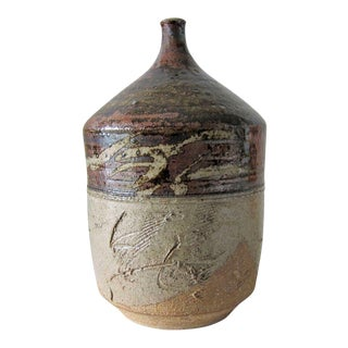Paul Soldner California Studio Pottery Spouted Vase For Sale