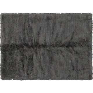 """Contemporary Turkish Shag Rug - 5'10"""" X 8'1"""" For Sale"""