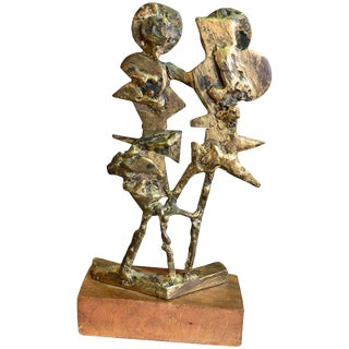 Bronze Sculpture by Abbot Pattison For Sale