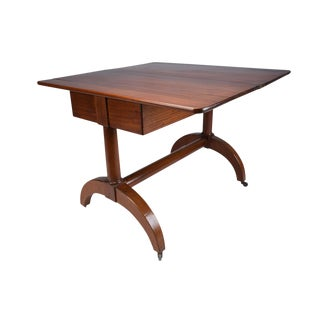 19th Century Regency-style Flip-Top Console Table