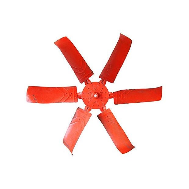 "X-Large 60"" Industrial Orange Propeller - Image 5 of 5"