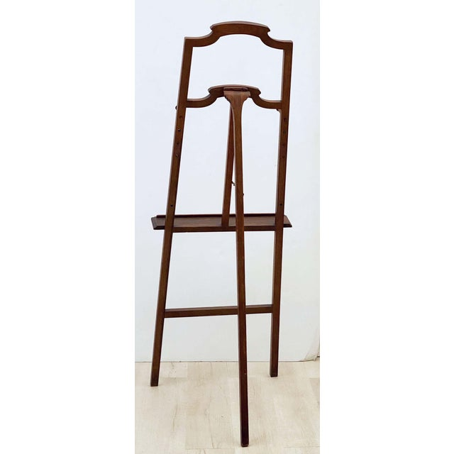 English Artist's or Display Easel With Carved Wood Accents For Sale - Image 11 of 13