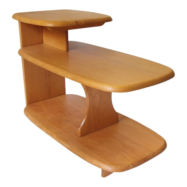 1940's Heywood Wakefield Tiered Surfboard Table For Sale