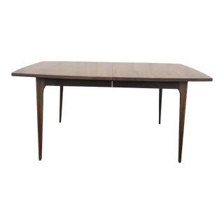 Mid Century Modern Broyhill Brasillia Walnut Dining Table For Sale
