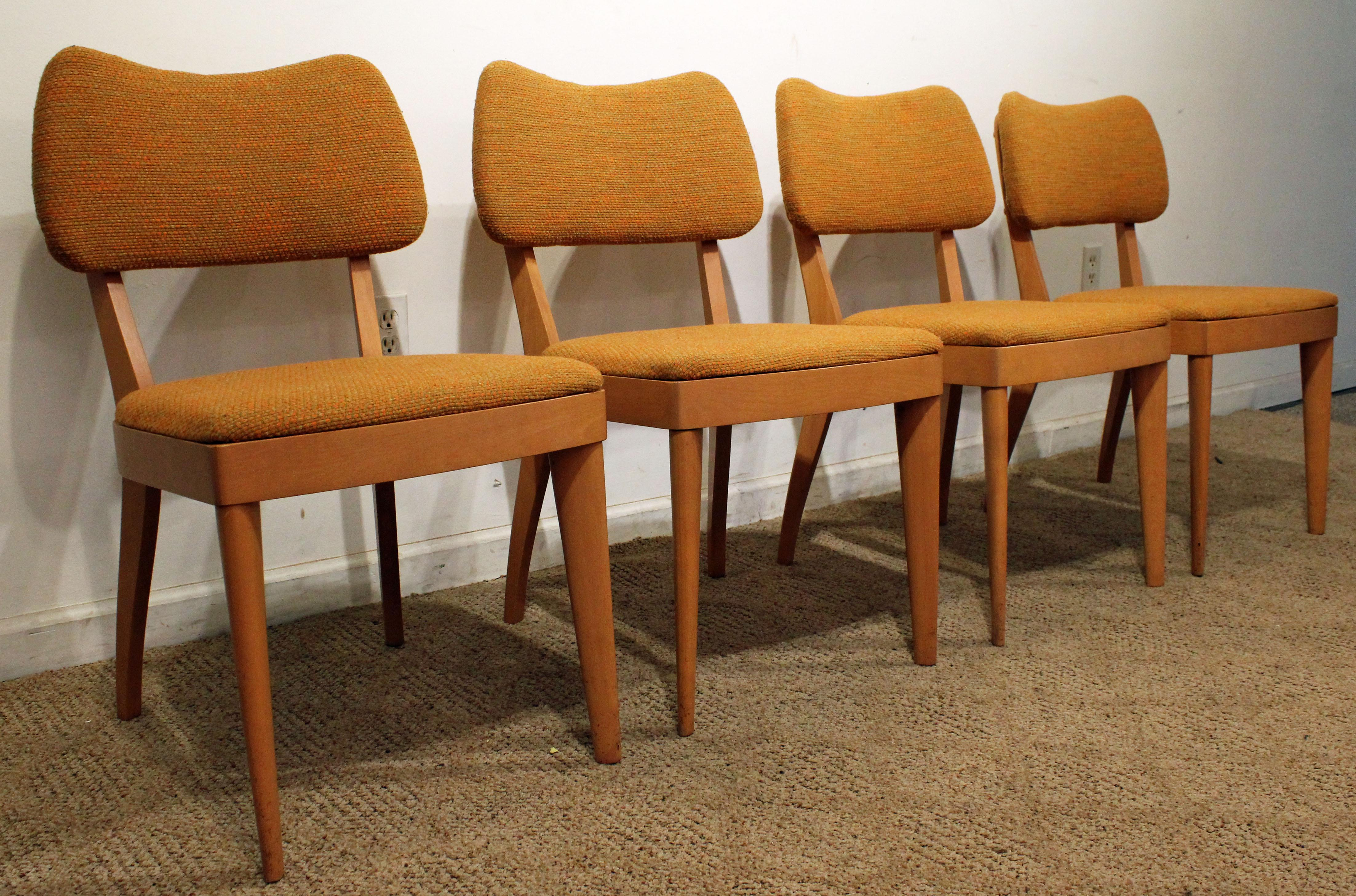 danish design dining chairs small dining offered is set of midcentury dining chairs by heywood wakefield this danish modern set wakefield champagne