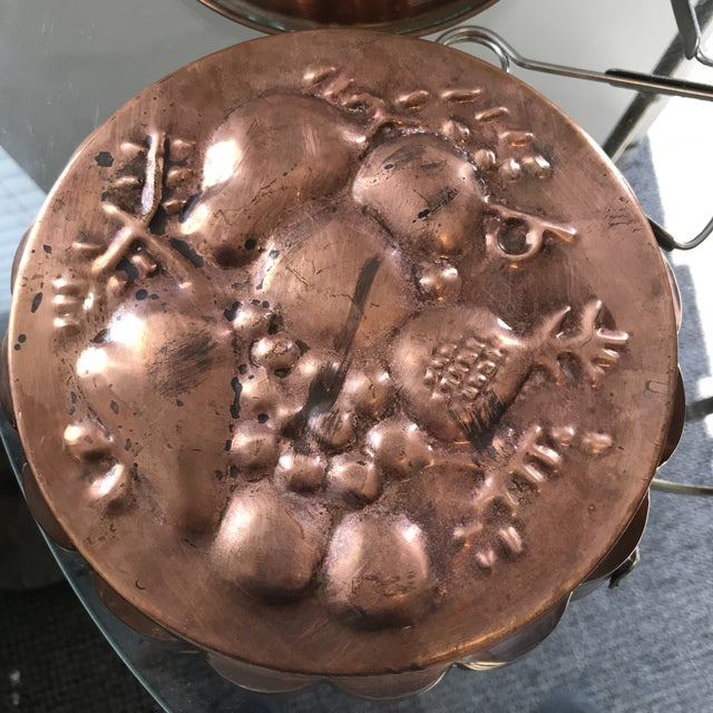 Traditional Copper Escargot Kitchen Collection - Set of 7 For Sale - Image 3 of 8