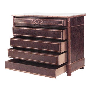 American Victorian Chest of Five-Drawer For Sale
