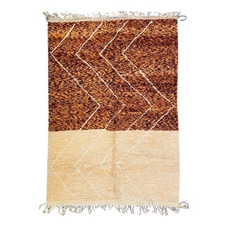 Modern Beni Ourain Rug-7′12″ × 11′6″ For Sale