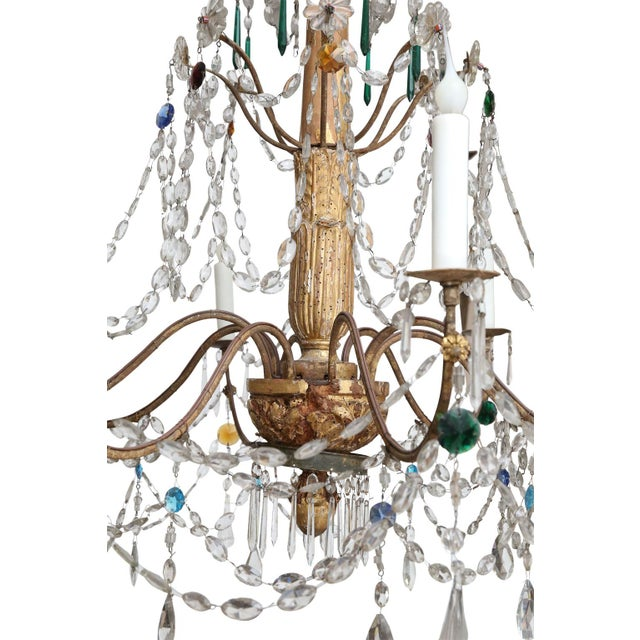 18th Century Genoese Chandelier For Sale In Houston - Image 6 of 8