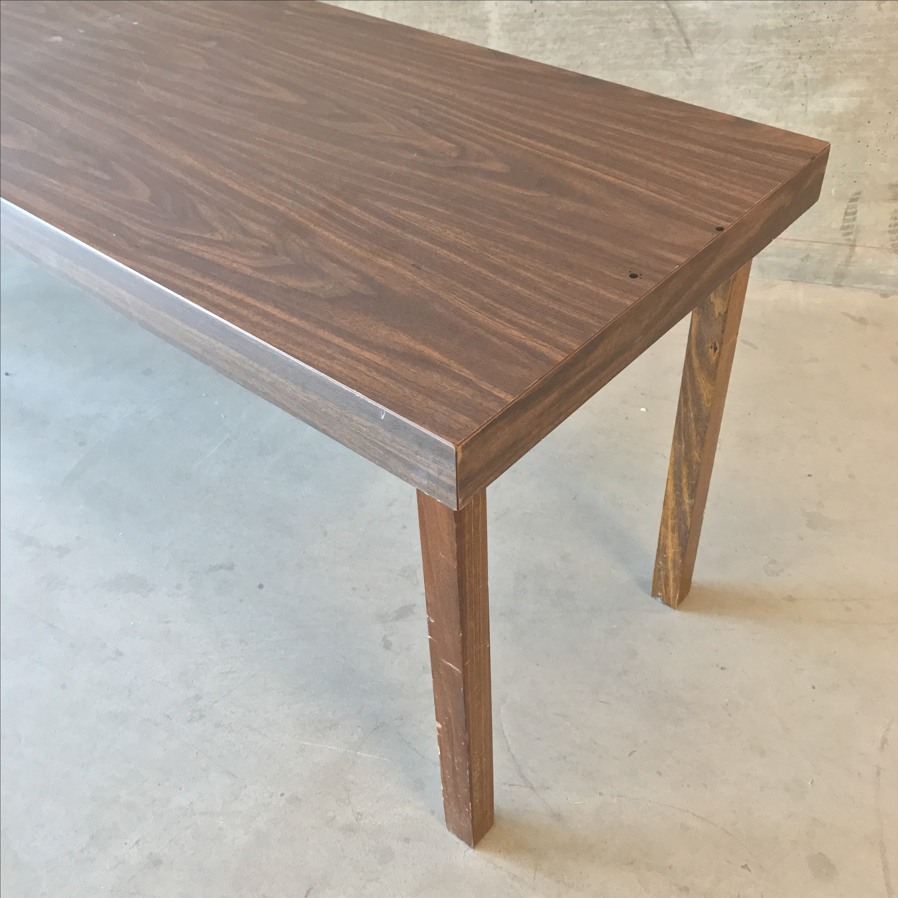 Mid Century Modern Office Work Table For Sale   Image 7 Of 8