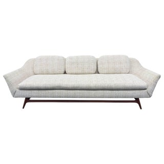 Modern Scandinavian Sofa in the Manner of Rastad and Relling For Sale
