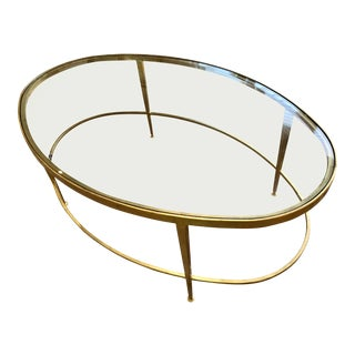 Kolkka Gold Coffee Table For Sale