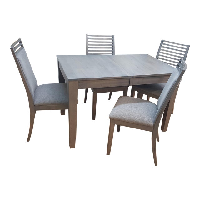 Bermex Gray Dining Room Set For Sale