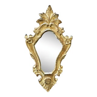 Vintage Florentine Wall Mirror For Sale