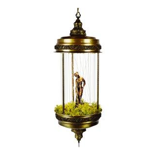 Vintage Goddess Hanging Motion Oil Rain Drop Lamp