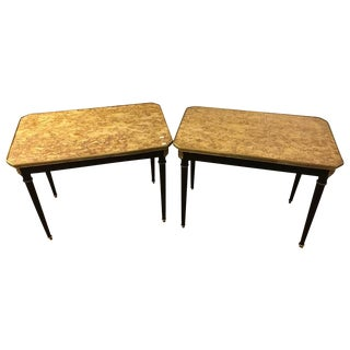 Louis XVI Style End Tables - A Pair For Sale