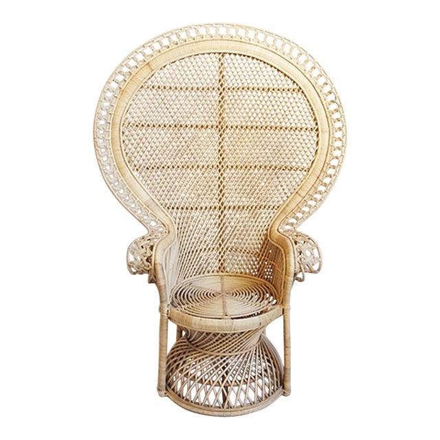 Rattan Loop Peacock Chair - Image 1 of 5