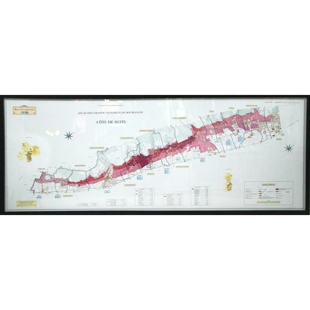 A beautiful reference guide of the Burgundy region. The map combines perfect readability with an elegant visual...