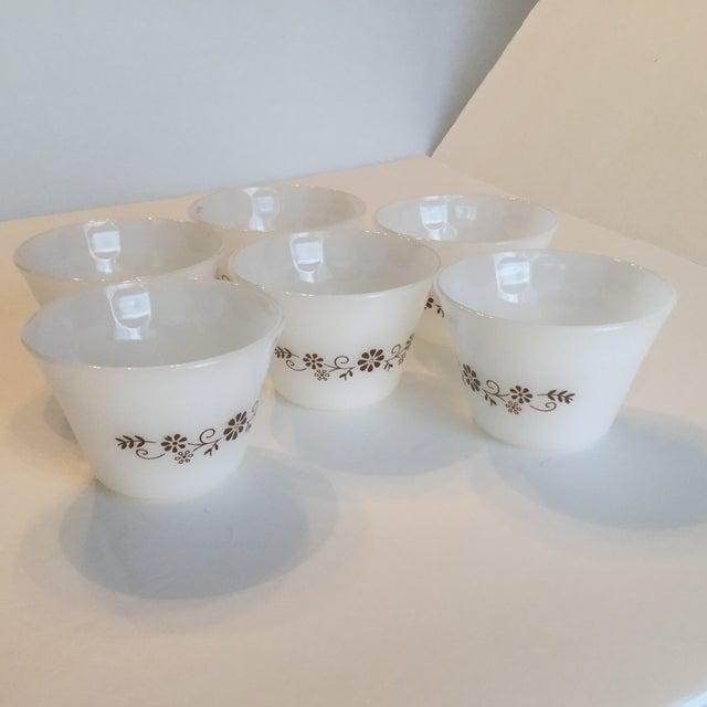 Milk Glass Custard Cups - Set of 6 - Image 7 of 10