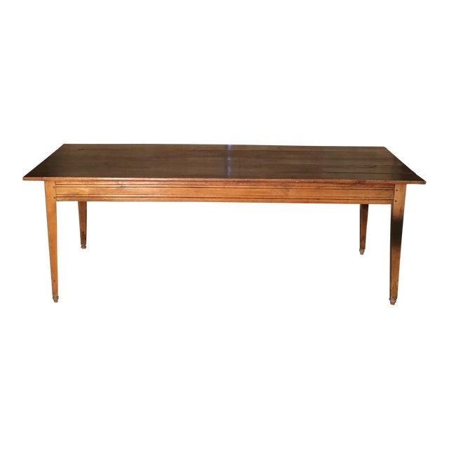 Antique Pine Farm Table For Sale