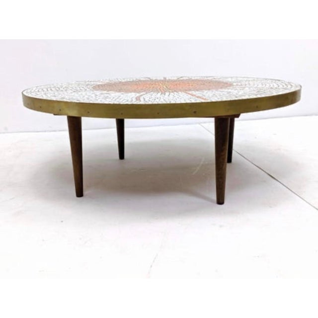 Harvey Probber Mid Century Modern Mosaic Coffee Table For Sale - Image 4 of 9