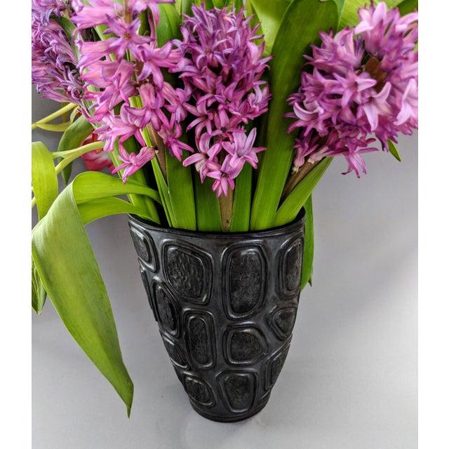 Early 21st Century Jonathan Adler Windowpane Brutalist Vase For Sale - Image 5 of 12